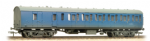 34-632 Bachmann Branchline BR Mk1 Suburban Second Brake Blue Weathered